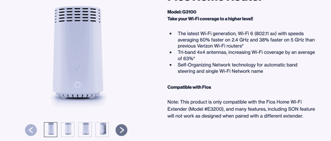 FIOS home Router