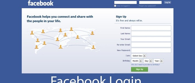 Facebook Login - Facebook Sign in | Facebook.com Login - Notion.ng
